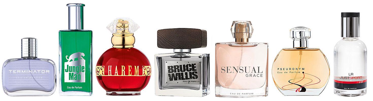 LR Parfum Sortiment im LR Shop